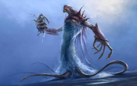 monster, sea Фон № 19879 разрешение 2560x1600