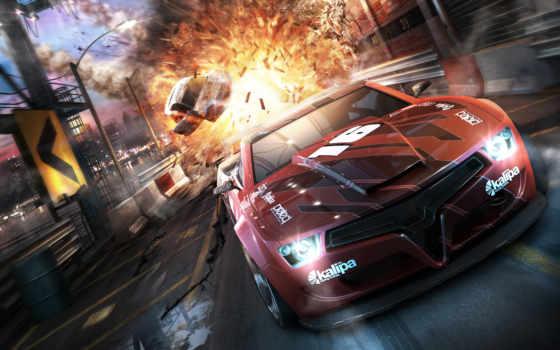 second, split, трек, race, смерть, игры, огонь, авто, velocity, resurrection, авария,