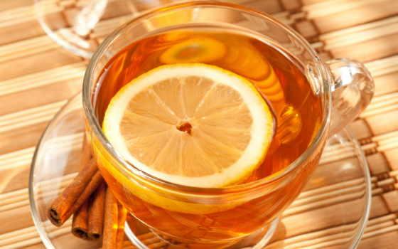black, чая, лимоном, warm, первым, делом, медом, приготовьте, некрепкий, простудились,