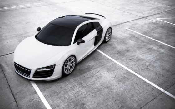 ауди, white, black, картинка, car, автомобили,