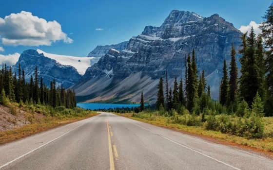 альберта, озеро, канада