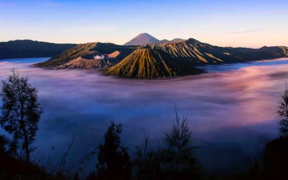 бромо, mount, вулкан