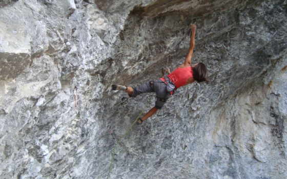 скалолаз, альпинист