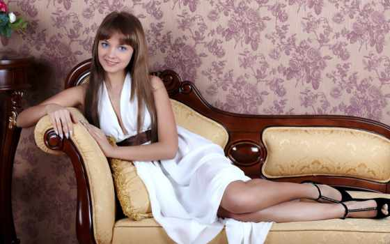 девушка, платье, лежит Фон № 146669 разрешение 1920x1080