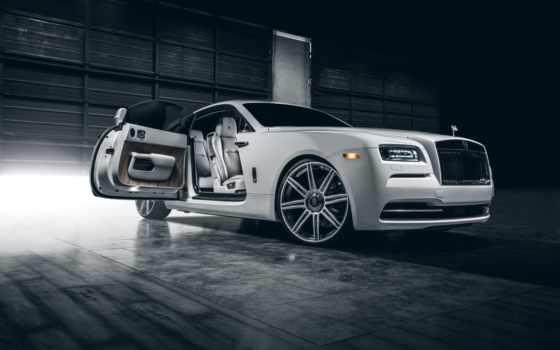 rolls, royce, wraith, white, car, vellano, premium, class,