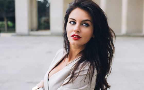 девушка, взгляд, красавица, заставки, красивые, только, daily, красивых, часть, коллекция,