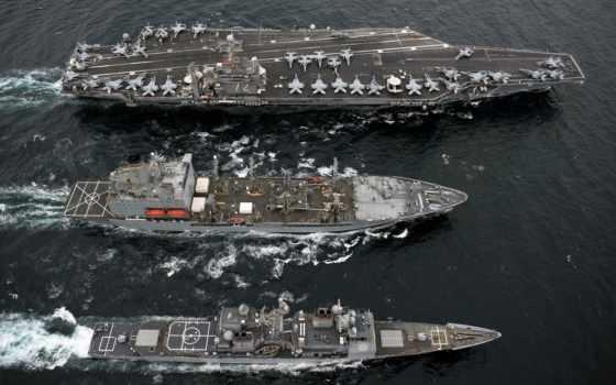 корабли, военный, авианосец