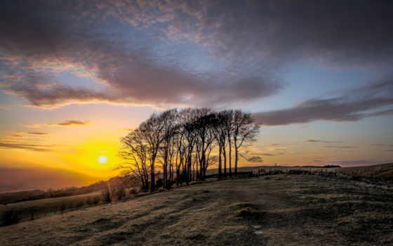 закат, high, sunsets, изображение, desktop, paysage,