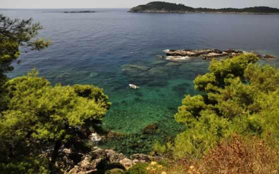 лодка, природа, берег, картинку, pin, картиники, pictures, заставок, блог,