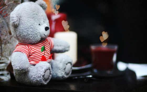 para, amor, imagenes, con, ipad, teddy, love, мишка, свечи,