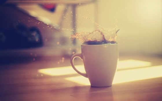 coffee, брызги, cup, утро, макро, vanilla, минимализм, свет, паула