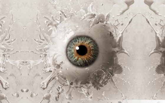 глаз, абстракция