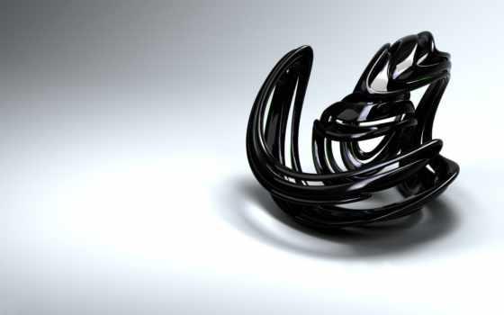 abstract, фигура, sculpture, тень, сплетение, линий, мес, гр, черная, high, desktop, какая, download, computer, free,