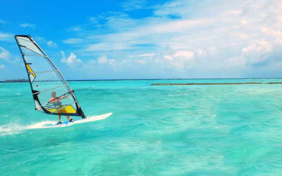 море, вода, спорт
