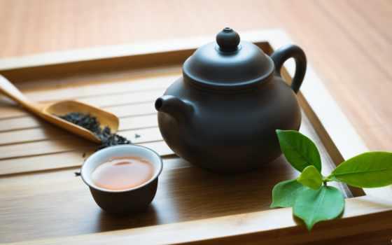 , чай, церемония, чайник