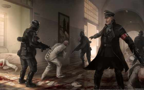game, new, игры, world, what, wolfenstein, заказать, ign, nazis,
