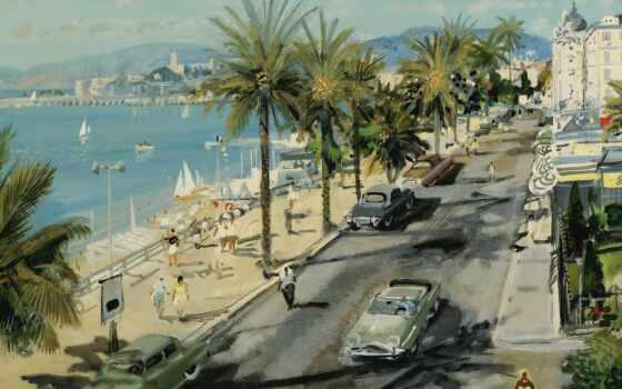 town, gabriel, resort, deschamp, art, french, artist, come, научиться, картинка