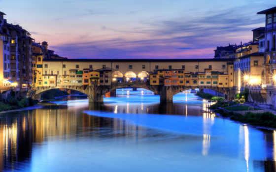 Флоренция Италия, Мост Понте Веккио