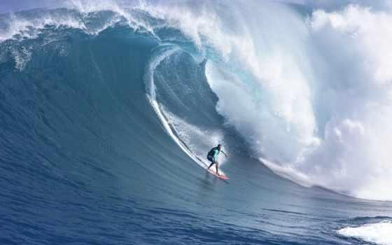 широкоформатные, море, волна