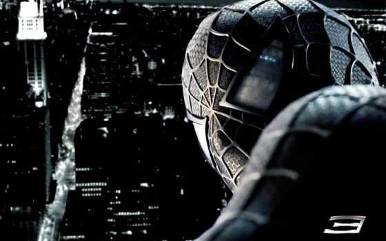 man, spider, враг, отражении, spiderman,