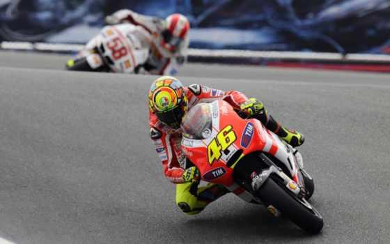 мотоцикл, motogp, racing