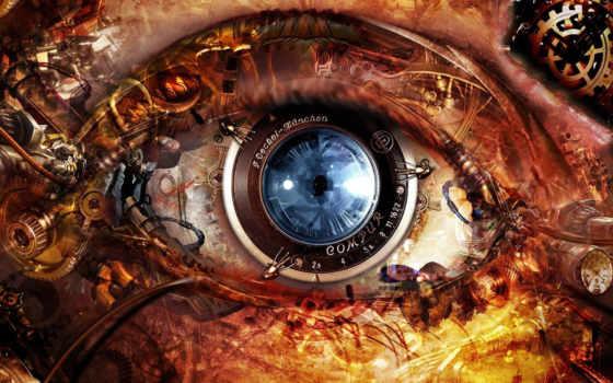 глаз, механизм, февр
