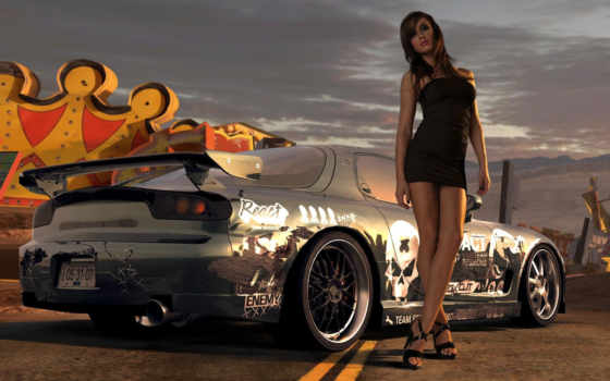 need, скорость, prostreet, race, game, devushki,