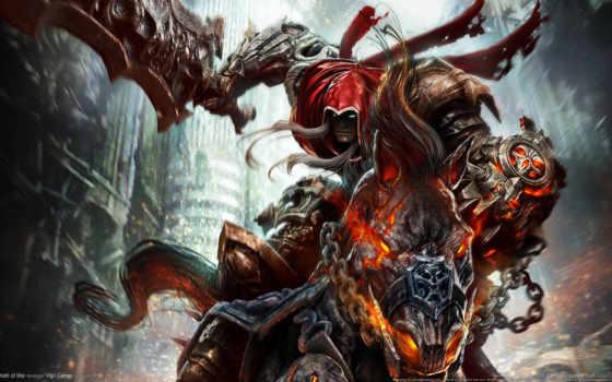 darksiders, смерть, всадник