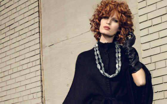 winberg, caroline, платье, волос, черном, шатенка, devushki,