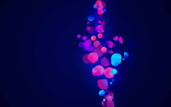абстракция, телефон, абстракции, streaks, blue, заставки, линии, яркие, картинку, обоях, добавлено,