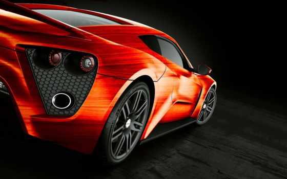 zenvo, фары, car, оранжевая, автомобили, cars, сзади, devon, картинка,