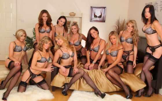 группа, девушки, девушек