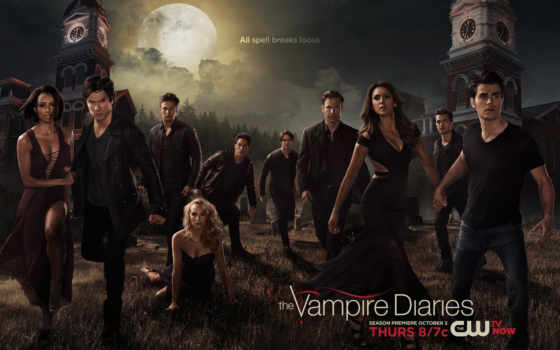 вампира, дневники, season