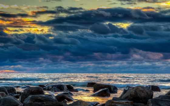 залив, bothnia, финляндия, baltic, море, скалы, камни, bay, балтийское,