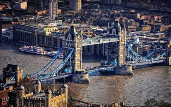 london, город,, очки, coupe, река, мост,