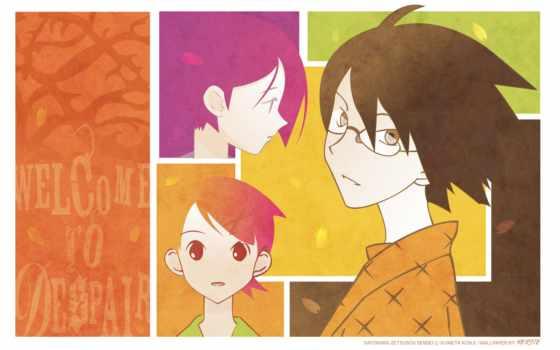 anime, desktop, изображение, free, zetsubou, sensei,