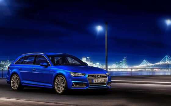 blue, ночь, car, ауди, tapety, avant, недвижимость