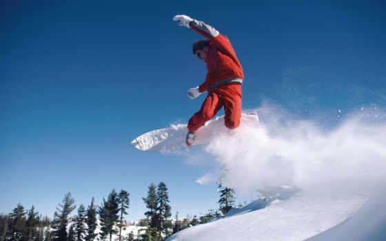 снег, сноуборд Фон № 21991 разрешение 1920x1200