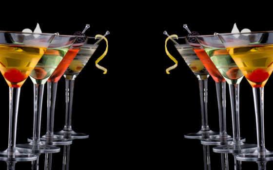 коктейли, напитки, черном, fone, everything, еда, будут, особенный, рисунком, иконки,