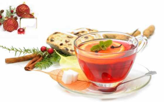 чая, cinnamon, lemon, ягоды, напиток, кружка, корицей, сахар, шишки, блюдце, carnation,