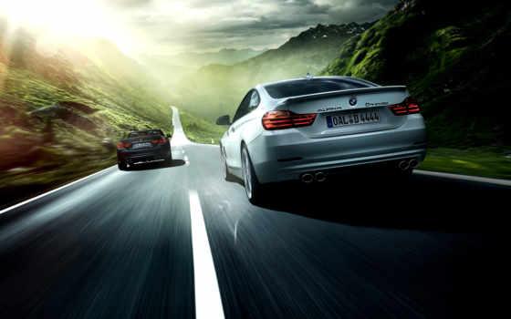 alpina, bmw, biturbo, серия, дороги, взгляд, mit, cabrio, diesel, coupe,