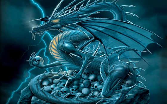 дракон, fond, dragons, драконы, fonds, ecran, fantasy,