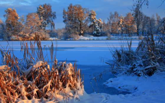 часть, зима