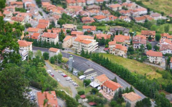 картинка, город, дома
