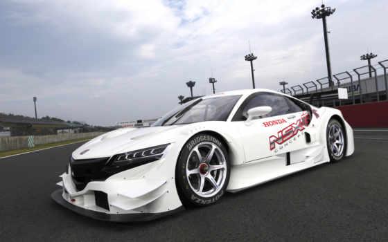 nsx, honda, acura, concept, car, racing, coupe, гоночную, голова, суперкар,