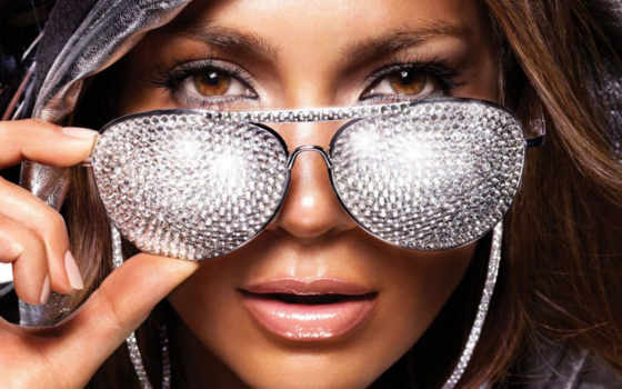 lopez, стразами, jennifer, очках, lopes, paste, очки, банка, знаменитости,