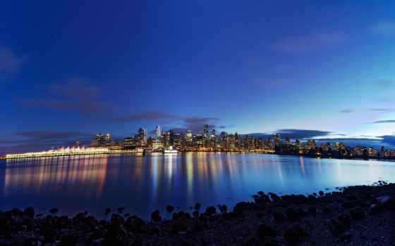 vancouver, desktop, канада, ultra, телефон, full, город,