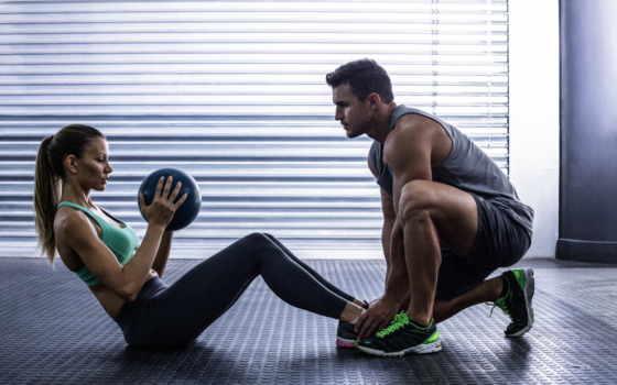 упражнения, тренировок, два, двоих, фитнес, тренировочный, muscle, workout,