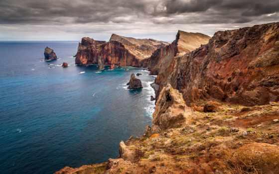 break, скалы, море