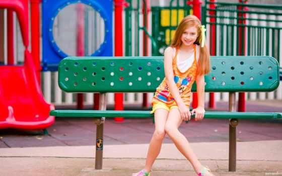 summer, девушка, улица